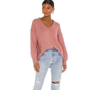 NEW Free People Rose Brookside Tunic Sweater